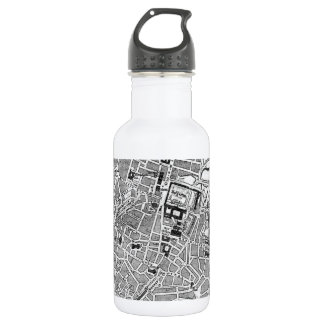 Vintage Map of Munich Germany (1884) Stainless Steel Water Bottle