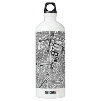 Vintage Map of Munich Germany (1884) Water Bottle