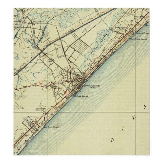 Vintage Map of Myrtle Beach South Carolina (1940) Poster on georgetown county sc map, charleston map, st. augustine map, ocean isle beach nc map, surfside beach sc map, galivants ferry map, united states map, alabama gulf coast shores map, grand strand map, horry county map, mrytle beach on map, south carolina map, hilton head map, north carolina map, hartsville sc on the map, sc area map, isle of palms on map, mortal beach sc map, st. petersburg-clearwater map, savannah map,