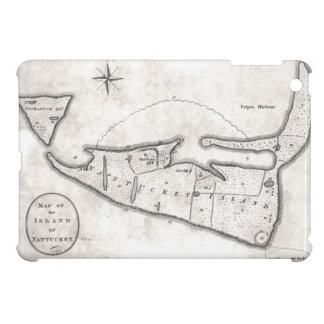 Vintage Map of Nantucket (1782) Case For The iPad Mini