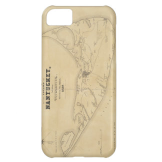Vintage Map of Nantucket 1838 Case For iPhone 5C