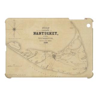 Vintage Map of Nantucket 1838 iPad Mini Covers