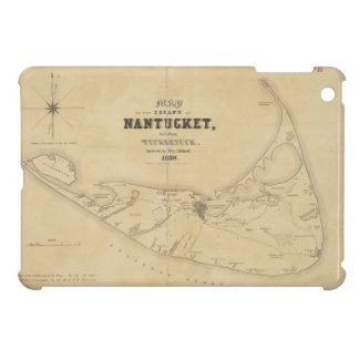 Vintage Map of Nantucket (1838) iPad Mini Covers