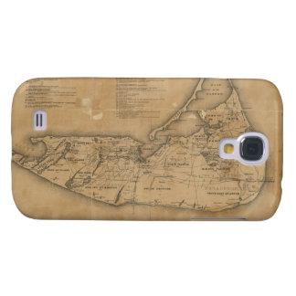 Vintage Map of Nantucket 1869 HTC Vivid / Raider 4G Case