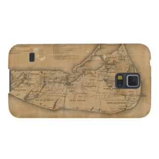 Vintage Map of Nantucket 1869 Samsung Galaxy Nexus Cover