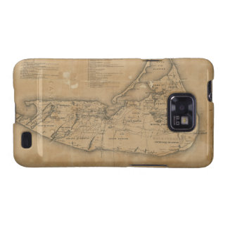 Vintage Map of Nantucket (1869) Samsung Galaxy S2 Cover