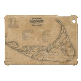 Vintage Map of Nantucket 1869 iPad Mini Case