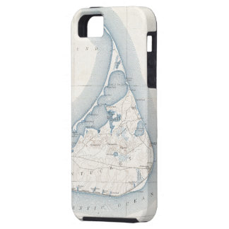 Vintage Map of Nantucket 1919 iPhone 5 Cover