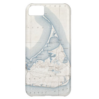 Vintage Map of Nantucket 1919 Cover For iPhone 5C