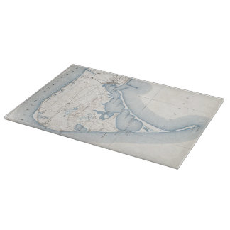 Vintage Map of Nantucket (1919) Cutting Board
