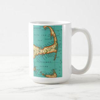 Vintage Map of NANTUCKET & CAPE COD Mug