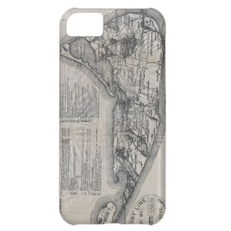 Vintage Map of Nantucket iPhone 5C Case