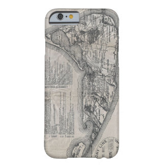 Vintage Map of Nantucket iPhone 6 Case