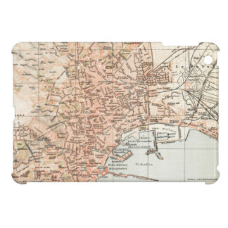 Vintage Map of Naples Italy (1897) Case For The iPad Mini