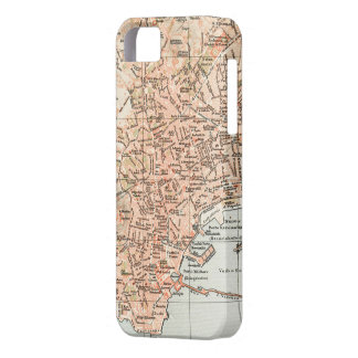 Vintage Map of Naples Italy (1897) iPhone SE/5/5s Case