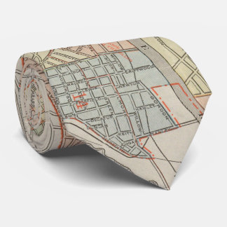 Vintage Map of Nashville Tennessee (1920) Tie