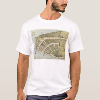 Vintage Map of New Amsterdam (1660) T-Shirt