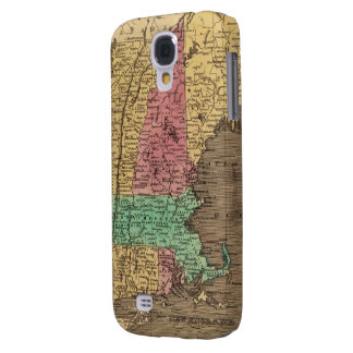 Vintage Map of New England (1836) Samsung Galaxy S4 Covers