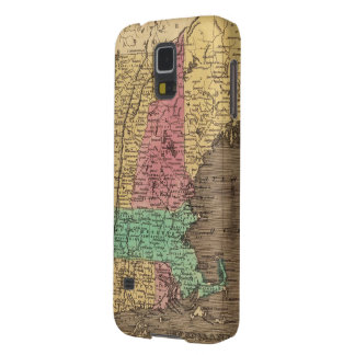 Vintage Map of New England (1836) Galaxy S5 Cover