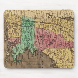 Vintage Map of New England (1836) Mouse Pad
