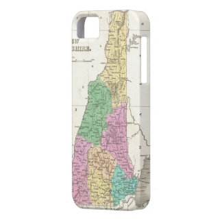 Vintage Map of New Hampshire (1827) iPhone 5 Case