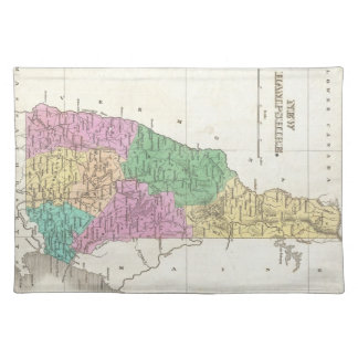 Vintage Map of New Hampshire (1827) Cloth Place Mat