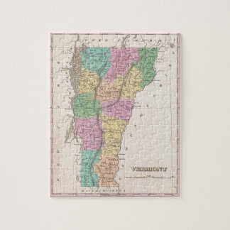 Vintage Map of New Hampshire (1827) Jigsaw Puzzle