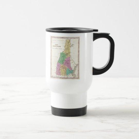 Vintage Map of New Hampshire (1827) Travel Mug