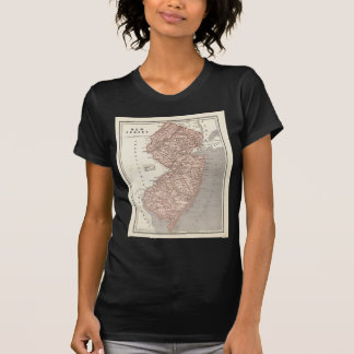 Vintage Map of New Jersey (1845) Shirt