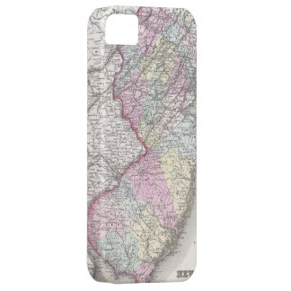 Vintage Map of New Jersey (1855) iPhone SE/5/5s Case