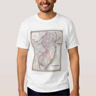 Vintage Map of New Jersey (1855) Shirt