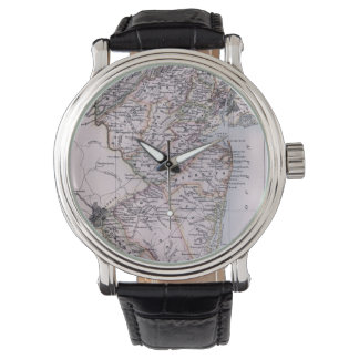 Vintage Map of New Jersey (1884) Wrist Watch