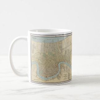 Vintage Map of New Orleans (1919) Coffee Mug