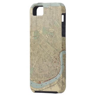 Vintage Map of New Orleans (1919) iPhone 5 Cover