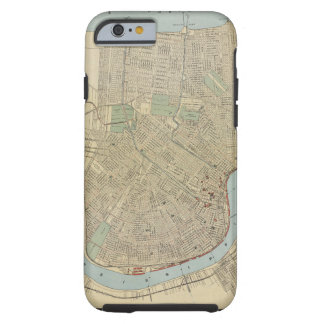 Vintage Map of New Orleans (1919) iPhone 6 Case