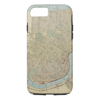 Vintage Map of New Orleans (1919) iPhone 7 Case