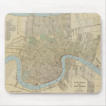 Vintage Map of New Orleans (1919) Mouse Pad