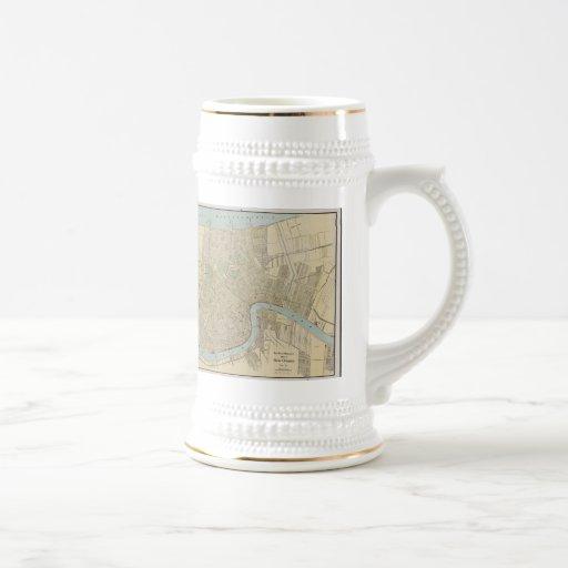 Vintage Map of New Orleans (1919) Mug