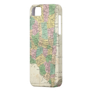 Vintage Map of New York (1827) iPhone SE/5/5s Case