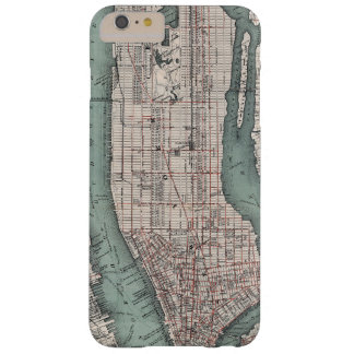 Vintage map of New York (1897) Barely There iPhone 6 Plus Case
