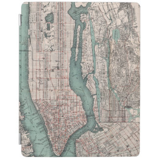 Vintage map of New York (1897) iPad Smart Cover