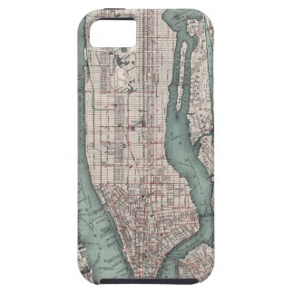 Vintage map of New York (1897) iPhone SE/5/5s Case
