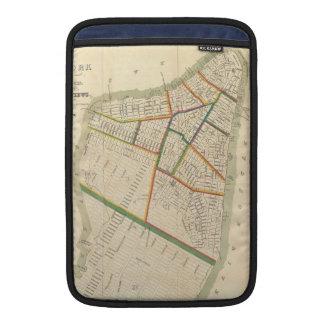 Vintage Map of New York City (1831) MacBook Air Sleeve
