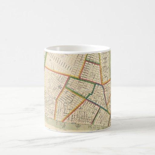 Vintage Map of New York City (1831) Mug