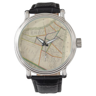 Vintage Map of New York City (1831) Watches