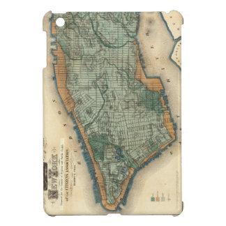 Vintage Map of New York City (1865) iPad Mini Case
