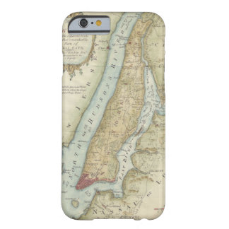 Vintage Map of New York City (1869) Barely There iPhone 6 Case
