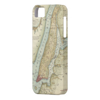 Vintage Map of New York City (1869) iPhone SE/5/5s Case