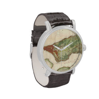 Vintage Map of New York City (1878) Wristwatch