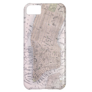 Vintage Map of New York City (1884) Case For iPhone 5C